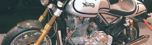 Legendary Norton returning to past glories?