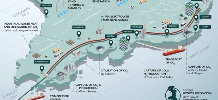 USW to take major role in South Wales Industrial Cluster Roadmap and Deployment projects